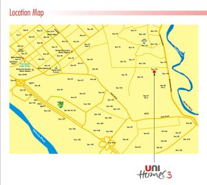 unitech unihomes location map big