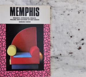 Memphis-Experience-Barbara-Radice-Livre-Point-to-Point-Book