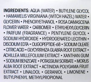 Mergens Nerola ingredients