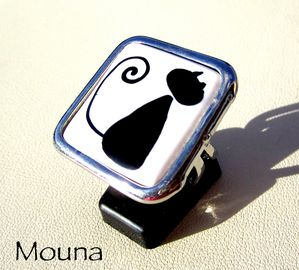 Bague Chat bon 2 DISPONIBLE: 15 euros.