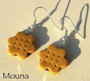 Boucles Biscuits bis DISPONIBLE: 10 euros.