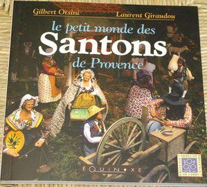 livre Le petit monde des santons