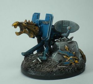 pion objectif 40K spaces marines chaos 1