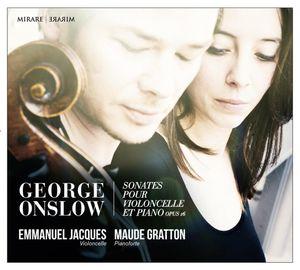 George Onslow Sonates pour violoncelle et pianoforte op 16