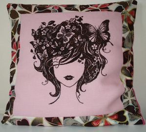 coussin Marie-Claire