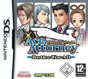 Phoenix Wright - Ace Attorney Justice For All - DS