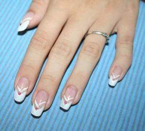 French Manicure Design Nail Designs