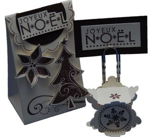 Pour votre table de noel un porte nom a realiser l for Porte nom noel