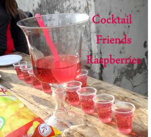 Cocktail pour 30 personnes friends raspberries la - Punch maison pour 30 personnes ...