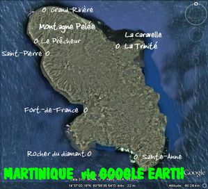 martinique via google heart