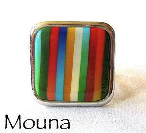Bague La vie en couleurs 2 DISPONIBLE: 15 euros.