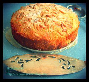 Gâteau Amande Bergamote-3