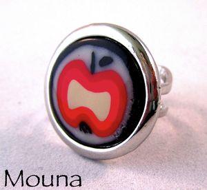 Bague Pomme pour mouna INDISPONIBLE