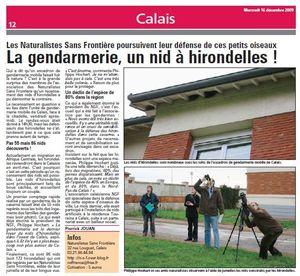 Nord Littoral Gendarmerie 16-12-01