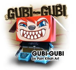 Papertoyz Gubi Gubi