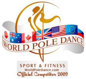 World Pole Dance Badge Competitor