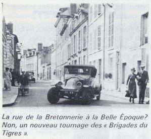 lieux du tournage Brigades du tigre à Orléans