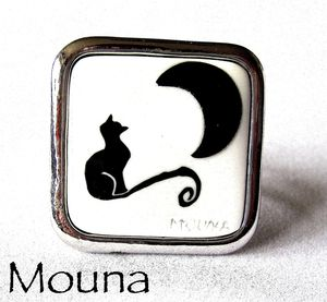Bague Chat noir 4 DISPONIBLE: 15 euros.