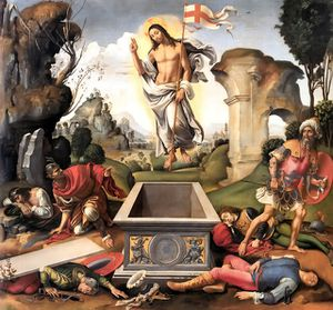 Resurrection Raffaelino del Garbo 1510