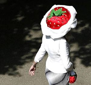 strawberry-hat