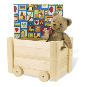 rangement chambre d 39 enfants coffre jouets en bois. Black Bedroom Furniture Sets. Home Design Ideas