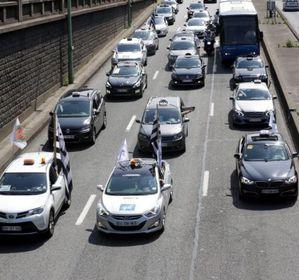 Les taxis menacent de bloquer l ile de france lundi 15 - Centre commercial porte de saint cloud ...