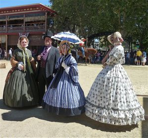 Sacramento, CA (Old Town, Gold Rush events) - 14