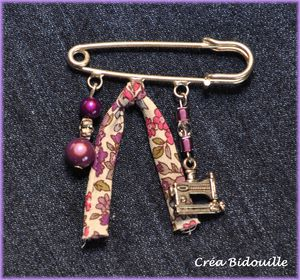 Broche couture