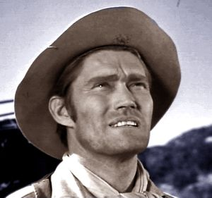 THE THIN ROPE : Chuck Connors- Tales of Wells Fargo