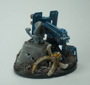 pion objectif 40K spaces marines chaos 4