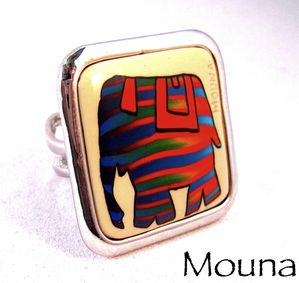 Bague Elephant 2 DISPONIBLE: 15 euros.