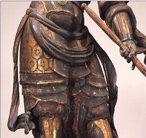 Statue de Dhrtarastra debout 1