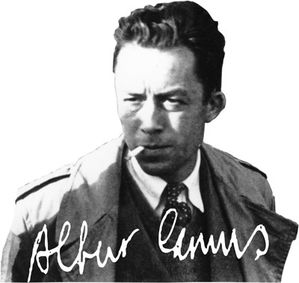 albert camus signature