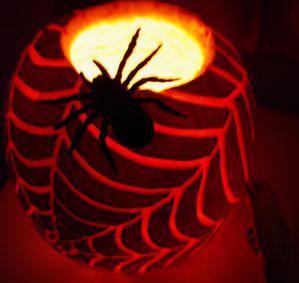 ouverte avec araignée