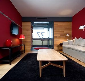 hotel camper berlin a part a. Black Bedroom Furniture Sets. Home Design Ideas