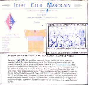 Idéal foot 1934-1935