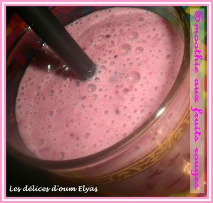 Smoothie aux fruits rouges (3)