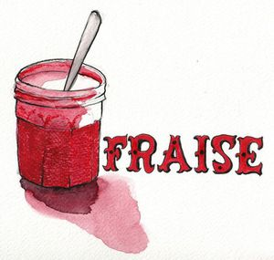 La fraise Chroniques Culinaires by Arno Roch