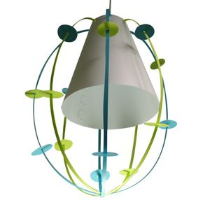 applique enfant z bulon vert anis et bleu luminaire enfant lampe casse noisette. Black Bedroom Furniture Sets. Home Design Ideas