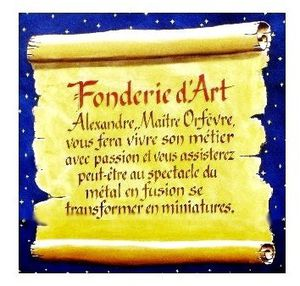 description fonderie d'art