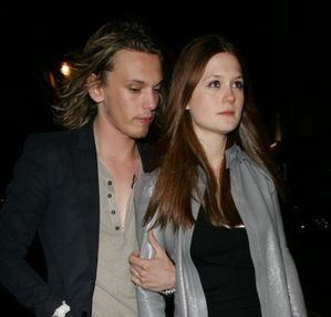 jamie campbell bower + bonnie wright 2