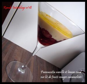 pannacotta vanille lemon curd fruits rouges caramelises cer