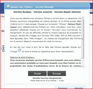 Archives version depuis internet