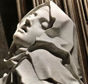 Bernini - Ecstasy of St Theresa detail