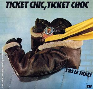 RATP Ticket chic ticket choc 45 tours 1981