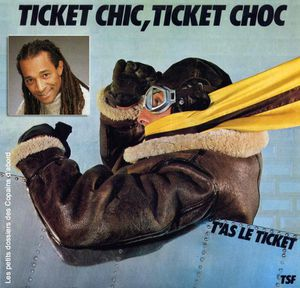 RATP Ticket chic ticket choc 45 tours et portrait Roddy Jul