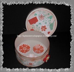 Boite Mini fleur10