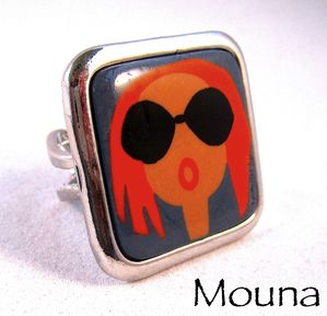 Bague Miss 1 DISPONIBLE: 15 euros.