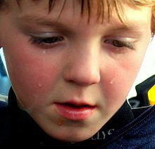 220px-A child sad that his hot dog fell on the ground