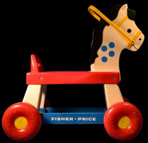 cheval vintage Fisher Price